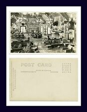 CANADA JASPER PARK LOUNGE F.H. SLARK REAL PHOTO POSTCARD AZO BACK CIRCA 1920