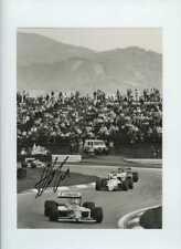 Nelson Piquet Williams FW11B austríaco Grand Prix 1987 Firmado fotografía de prensa 3