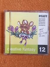 Pfaff Embroidery Machine Card Creative Fantasy #12 EASTER