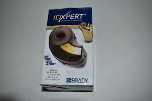 """^^BRADY IDXPERT XC-1000-595-BL-WT OUTDOOR VINYL 1""""X30 FT BLACK/WHITE NEW (FX10)"""