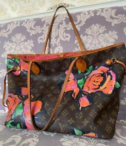 Louis Vuitton Neverfull Rose Authentic 100%