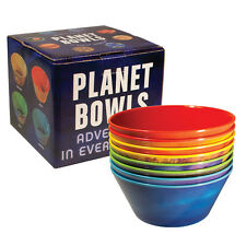 Set of 8 Melamine PLANET BOWLS, 16oz, by Unemployed Philosophers Guild