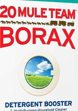 20 MULE TEAM BORAX - 1 (one) CUP - NATURAL LAUNDRY BOOSTER - Sodium Tetraborate