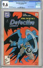 "Detective Comics  #578  CCG  9.6  NM+  White pgs  9/87  Batman:Year Two"" storyli"