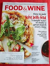 FOOD & WINE MAGAZINE APRIL 2014 HOW TO PAIR WINE WITH FOOD BEST WINES