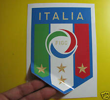"""BEST PRICE! LOT OF 10 SOCCER DECAL / STICKER ITALY / ITALIA  4"""" X 6"""""""