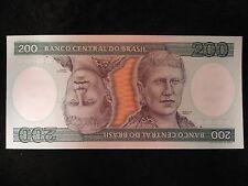 Lot of 27 UNC Sequential Banco Central Do Brasil 200 Duzentos Cruzeiros