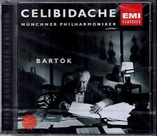 CELIBIDACHE: BARTOK Concerto for Orchestra + Rehearsal CD Sergiu EMI Neu