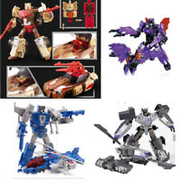 Oversize Transformation Metal Brainstorm Deformatiin Fighter Robot Action Figure