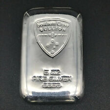5OZ  SOUTHERN CROSS BULLION CAST SILVER - 999 FINE SILVER BULLION BAR