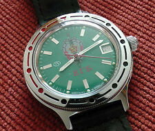 Wrist Mechanical Automatic Watch VOSTOK KOMANDIRSKIE KGB USSR 921945