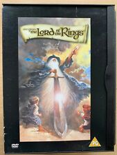 the Lord of the Rings DVD 1978 Ralph Bakshi J.r.r. Tolkien Animated Cult Movie