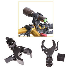 Adjustable Cycling Bike Mount Holder Bracket For Flashlight Torch Clip Clamp