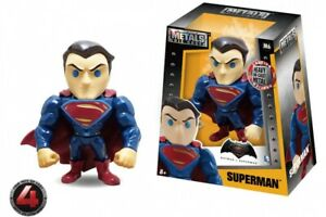 "Metals Batman v Superman 4"" Die-Cast Fig. M6 Superman Jada Toys Fig.#10 6/21"