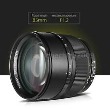 85mm F1.2 135 Full Frame Large Aperture Lens for Nikon F Mount DSLR Camera Y1E7