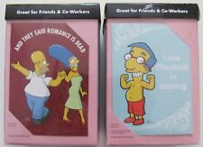 The Simpsons Valentines from 2006 Two boxes, 16 cards New Valentine's Day Rare