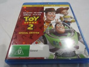 TOY STORY 2 Bluray Disney Pixar Special Edition DVD Like New condition