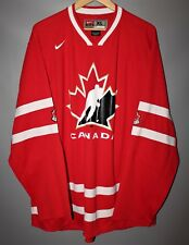 CANADA NATIONAL TEAM ICE HOCKEY TEAM JERSEY SHIRT 2008 NHL NIKE SIZE XL