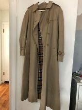 Vintage Burberry Trench, Tan with Cashmere lining, Women's S/M
