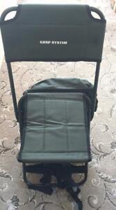 Carp System Folding Canvas Ruck Chair, Fishing Chair / Coarse / Carp Fishing