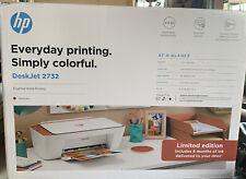 HP DeskJet 2732 Wireless All-in-One Color Inkjet Printer Instant Ink Terracotta