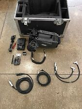 ARRI ALEXA PLUS 120FPS HIGH SPEED CAMERA PACKAGE WITH SHIPPING CASE, ACCESSORIES