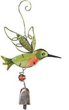 Hummingbird Bell Sun Catcher Ornament Regal Art Stained Glass Hummingbird Bell
