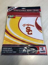 NEW Jumbo Stretchable Book Cover USC Trojans Turner Sports