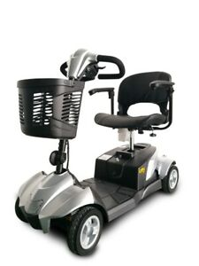 New Ev Rider CityCruzer 4 Wheels Transportable Mobility Scooter, Silver