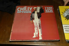 Chilly Uptown lp I Got Rules Old school hip hop sealed mint vinyl dj MINT