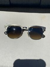 Ray-Ban Clubmaster Aluminum - RB 3507 139/85 - Bronze/Brown (Pre-owned)