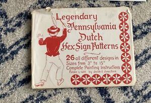 Jacob Zook 1964 Legendary Pennsylvania Dutch Hex Sign Patterns