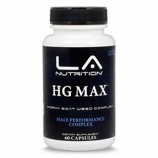 HG MAX Horny Goat Weed 1000mg with Tribulus Saw Palmetto, Ginseng, L-arginine