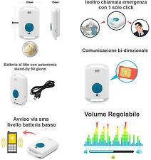 MOSAIC HA29 Telesoccorso GSM Pulsante SOS per Anziani