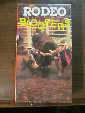 RODEO BLOOPERS VHS NEW/SEALED 1989