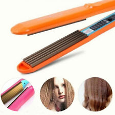 Pro Hair Crimper Crimping Wave Iron Ceramic Plate Waver Hair Styling Curler Wand
