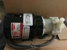 March pump model BC-2AP-MD 115 volt appropriate for chemicals