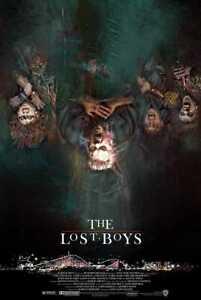THE LOST BOYS screenprint by Frederick Cooper RARE Private Commission Not Mondo