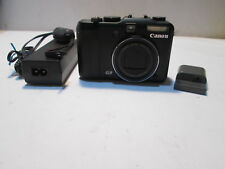Canon PowerShot G9 12.1MP Digital Camera + charger & DC COUPLER