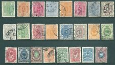 FINLAND 1875-1911 used stamp collection
