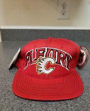 Vintage Calgary Flames Starter Hat Cap Snapback Theoren Fleury 14 Vtg New NWT