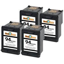 4pk #94 C8765WN Black for HP Officejet 150 6210 7205 7210 7310 7410 H470 K7100