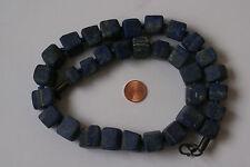 Lapislazuli-Kette (Rectangle, L =53 cm Natural) J-0199/J