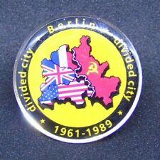 Berlin Souvenir  'Berlin-Divided city 1961-1989'  Pin metal pin accessory, PB005