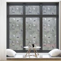 Milchglas Fensterfolie Sichtschutz Sichtschutzfolie Fenster Selbstklebend Dekor