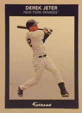 """Derek Jeter FATHEAD Small 6"""" x 4"""" Player Advertising Panel Decal Sign YANKEES"""
