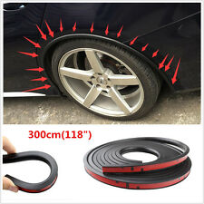 118'' Autos Fender Flare Wheel Eyebrow Protector Extension Wheel-arch Trim Strip