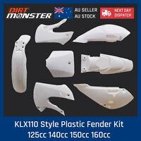 KLX110 Style Plastic Fender Kit for 125cc 140cc 150cc 160cc Atomik Reign Bigfoot