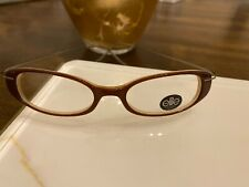 Elle 2880 #8 Brown 46–16 Models Fashion Eyeglass Frame / Super Lightweight