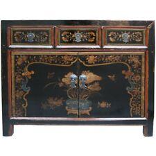 Chinese Antique Furniture -  Original Mogolian Painted Sideboard (37-034)
